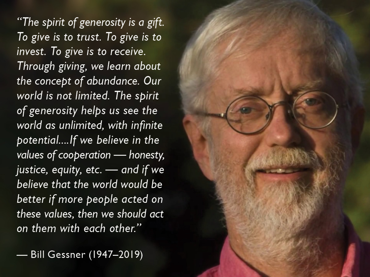 Bill Gessner and quote