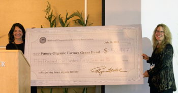 Future Organic Farmers Grant Fund Award