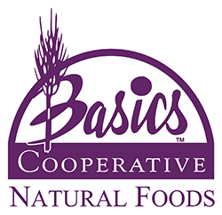 Basics Cooperative Natural Foods logo