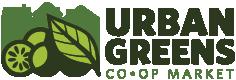 Urban Greens Co-op Market logo