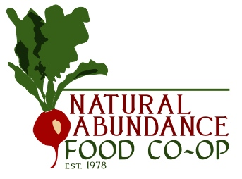 Natural Abundance Food Co-op Radish Logo