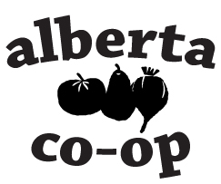 Alberta Cooperative Grocery logo
