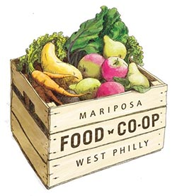 Mariposa Food Co-op logo