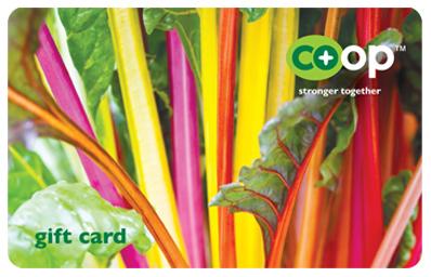 Gift Card, Rainbow Chard
