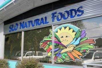 SLO Natural Foods Co-op storefront